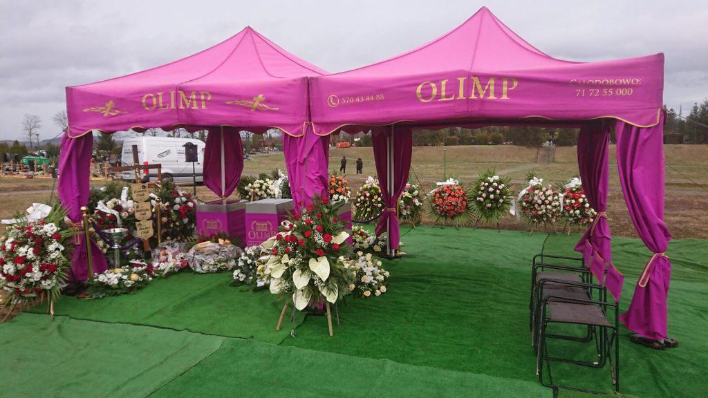 pogrzeb zamordowanej rodziny