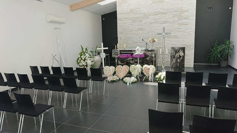 sala pożegnań olimp