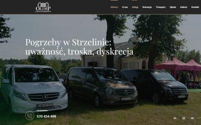 Pogrzebystrzelin.pl – Nowa strona internetowa zakładu pogrzebowego Olimp w Strzelinie